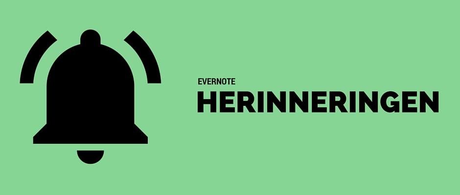 5 Manieren om Evernote Herinneringen te Gebruiken