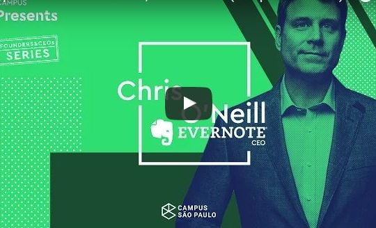 De Visie van Chris O'Neil CEO Evernote