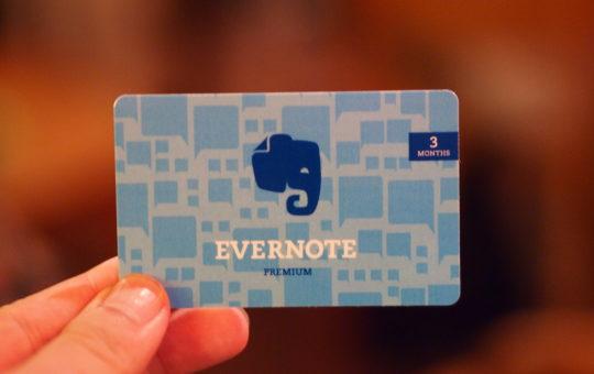 Medewerkers van Evernote Lezen voortaan je Notities