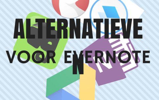 Alternatieven voor Evernote. Hoe presteren ze eigenlijk?