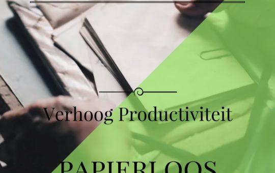 Verhoog productiviteit met deze tips om papierloos te werken